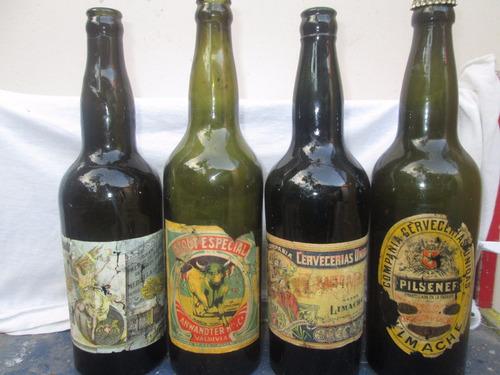 botellas cerveza antiguas