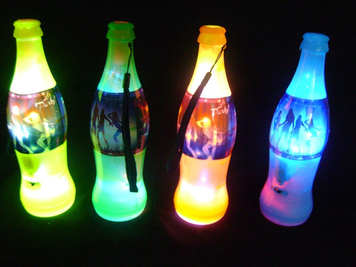 botellas cornetas luminosas!!
