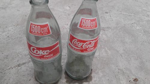 botellas de coca cola antiguas