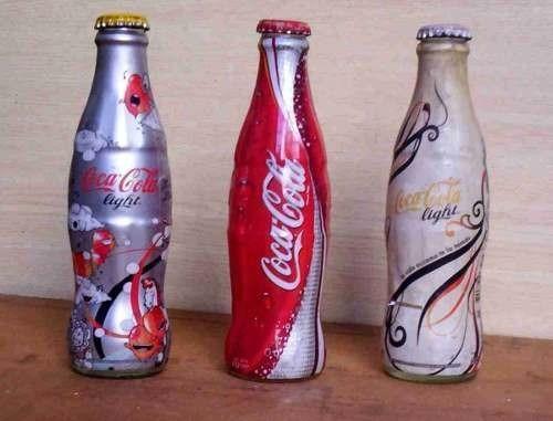 botellas de coca cola en vidrio de coleccion vendo separadas