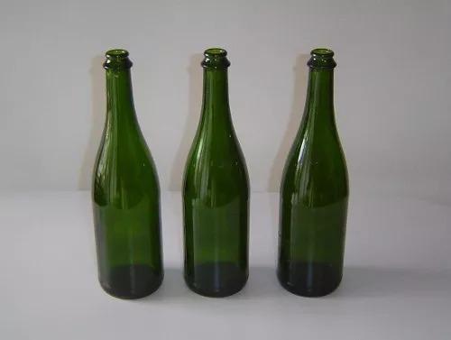 botellas de vidrio cuello 29 mm para chapa 29 mm