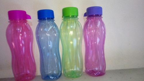 botellas deportivas 500cc variedad de colores tapa a rosca