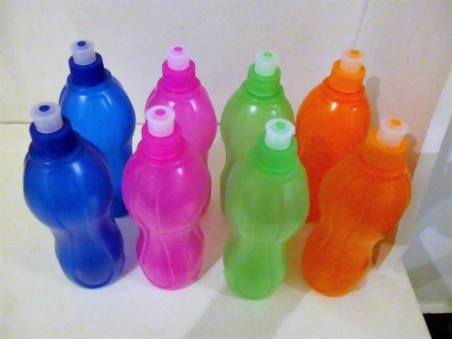 botellas deportivas con pico 500cc ideal souvenir club