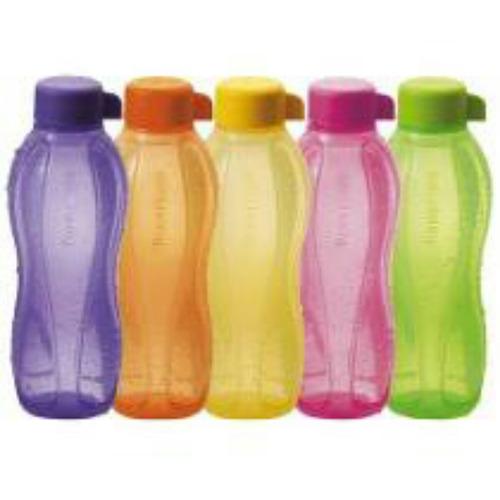 botellas deportivas eco transparentes .con tapa a rosca