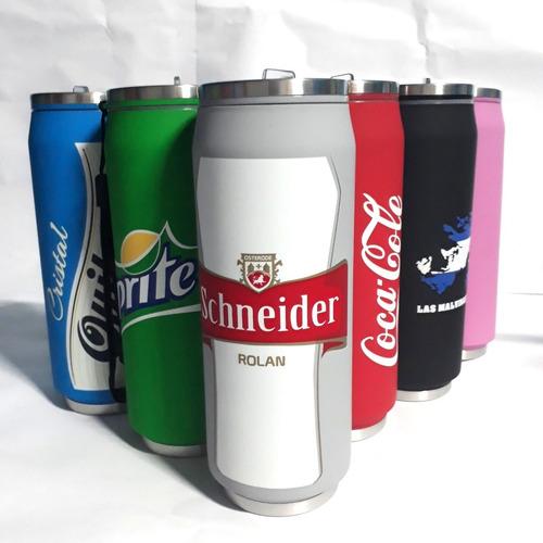 botellas deportivas termicas latas 500 ml 30 u + envo gratis