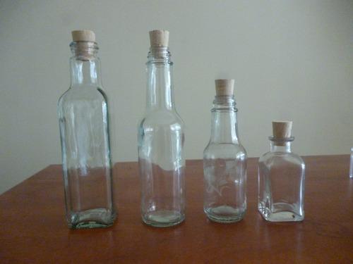 botellas frascos envases invitaciones recordatorios