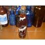 Antigua Botellas Grapette Con Tapa Y Liquido.