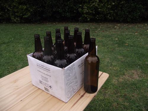 botellas para cerveza artesanal 750cl pack x 12
