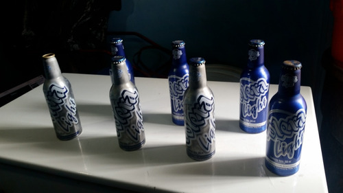 botellas solera  polar de aluminio serie 2008