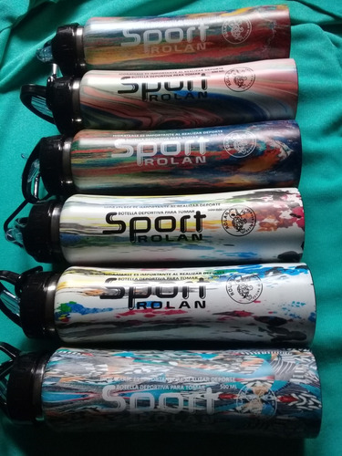botellas termos deportivas camufladas 500cc