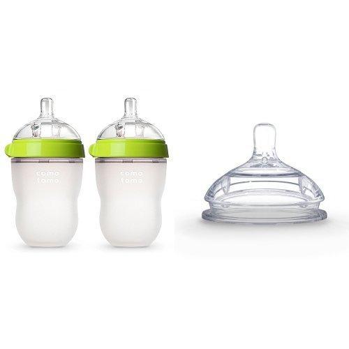botellasbotella comotomo bebé configurar transición, verd..