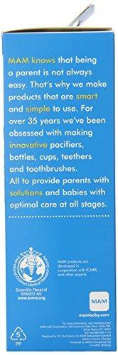 botellas,botella mam bebé, niño, 11 onzas, 2-conde