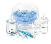 botellas,philips avent exclusivo natural all-in-one set..