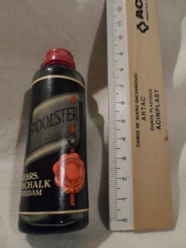 botellita miniatura poolster - sin abrir y sin contenido