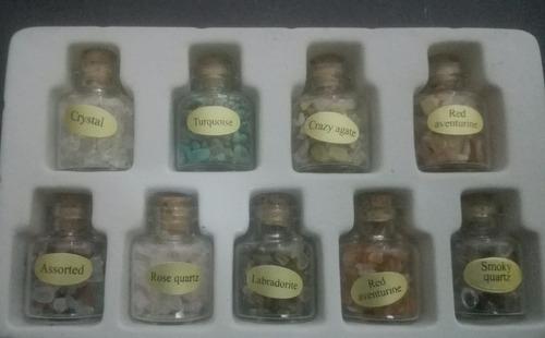 botellitas con piedras