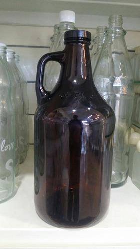 botellon cerveza artesanal 1,9 l licor fabrica growler x6