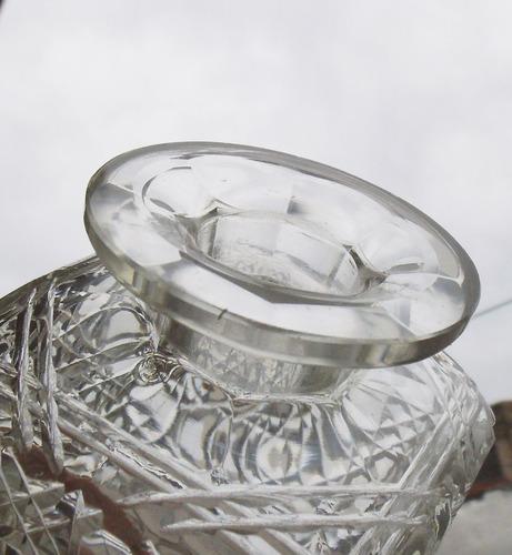 botellón cristal  gran talla a mano envíos h