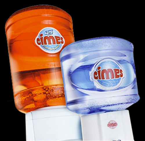 botellon de agua cimes bajo sodio de 12 lts