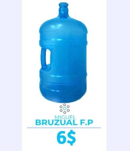 botellon para agua de 20lts plastico 50 unidades