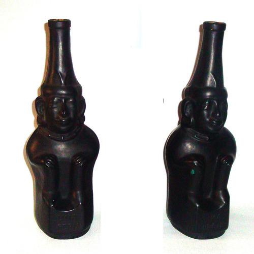 botellónes retros pisco inca buen estado valor c/u, 28 cms.