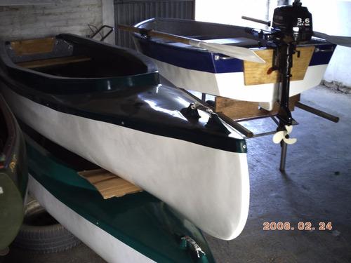 botes de fibra nuevos opcional con mot. parsun 3.6 hp