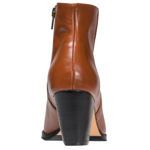 botienetas botas mujer cuero  suela de goma febo