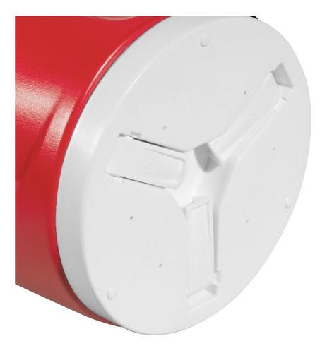 botijao isotermico 09l vermelho invicta