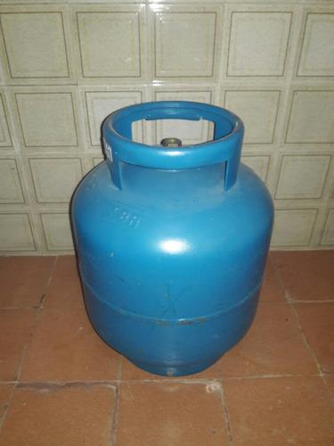 botijão de gás 13 kg vazio vasilhame bem conservado