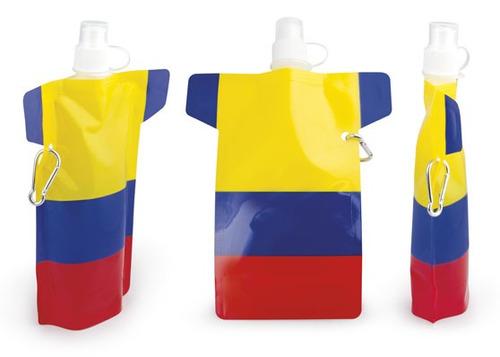 botilito colombia tricolor 30 onzas tipo deportivo