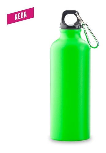 botilito metálico sport bottle neon - 500 ml.