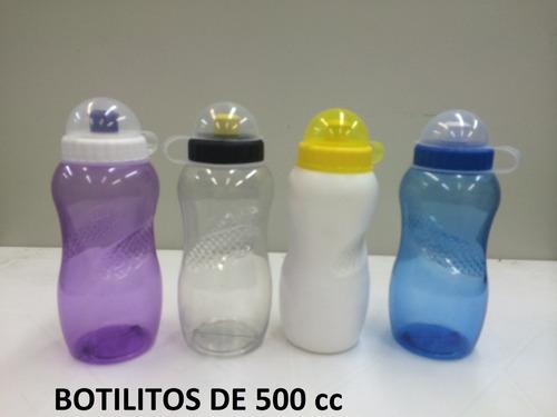 botilito plastico publicitario de 500 ml