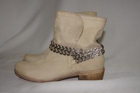 d5a780d3 Botas Invierno Cuero Corte Bajo Dama - Vestuario y Calzado en ...
