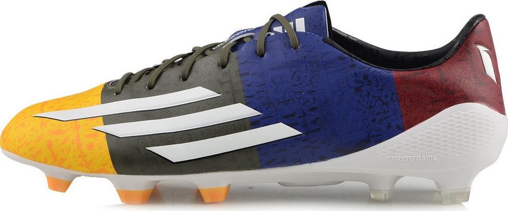 botin adidas f50 adizero messi blaugrana futbol profesional. Cargando zoom. 9e0375593ed03