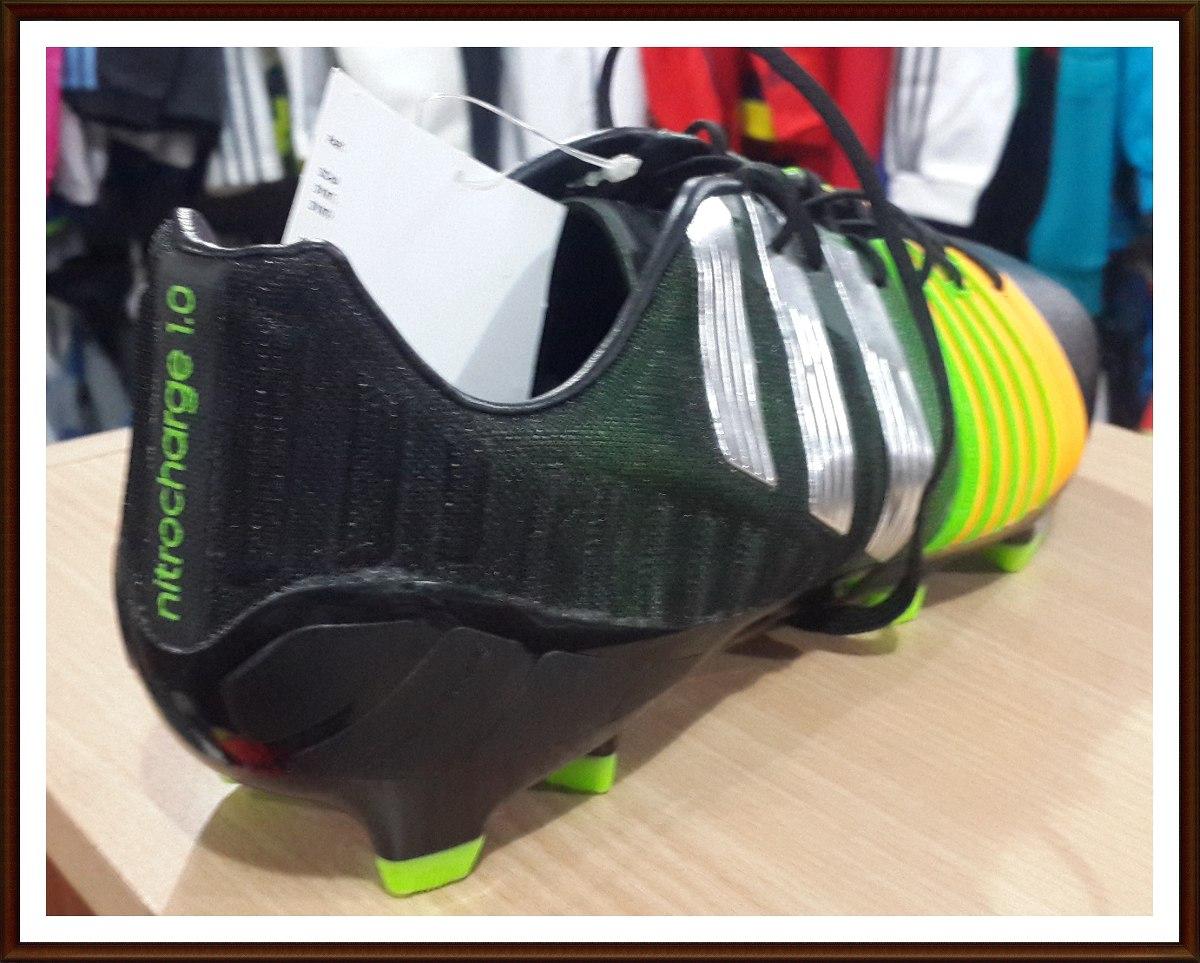hot sale online 60639 3e3b2 botin adidas nitrocharge 1.0 futbol profesional. Cargando zoom.
