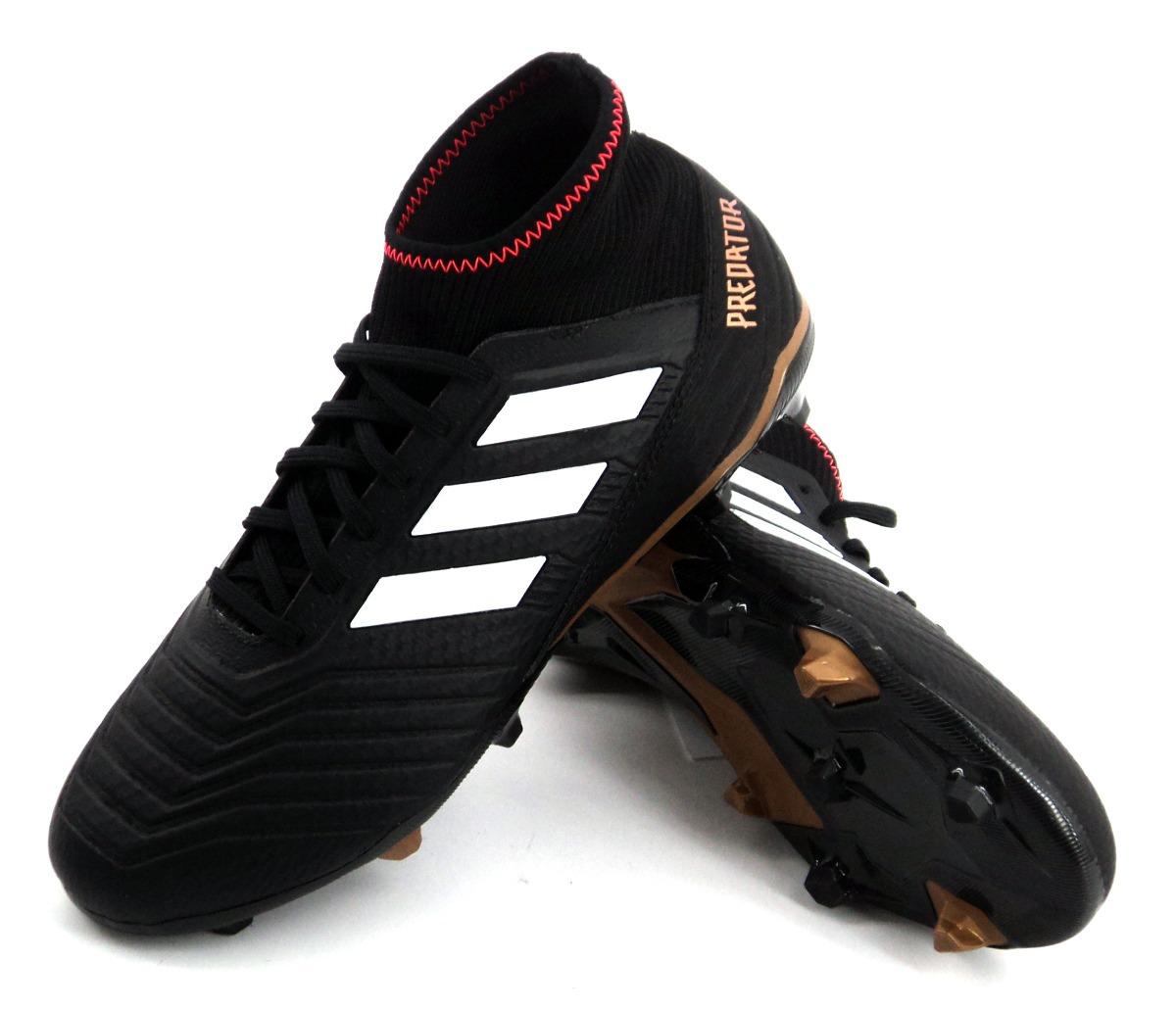 botin adidas predator 18.3 fg negro fútbol adulto eezap. Cargando zoom. a28659bd7f42e