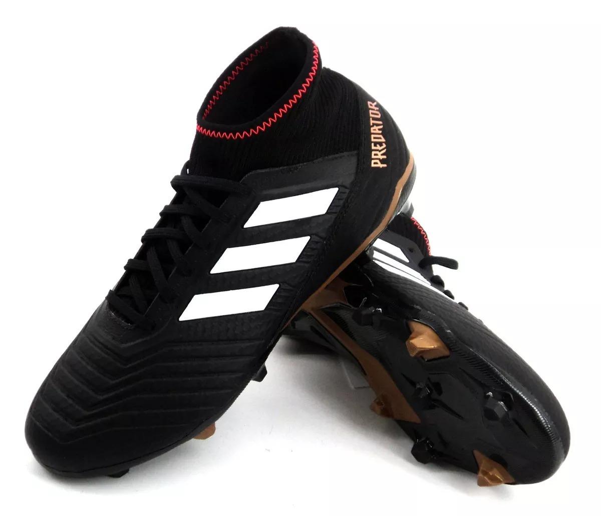 botin adidas predator 18.3 fg negro fútbol niño 9010 eezap. Cargando zoom. 18aa65d44f5ae