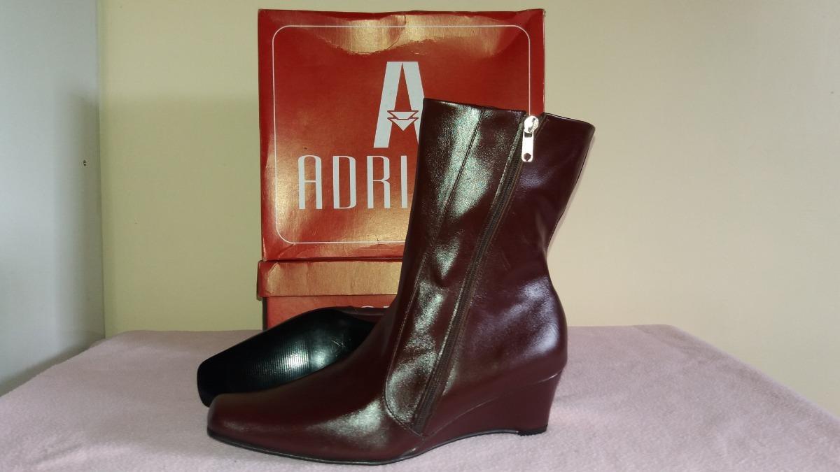 0baab739 botin bota dama marca adriano cuero piel originales mod 8005. Cargando zoom.