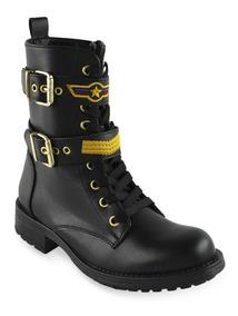 34181968 Botin / Bota Monaco Marca Taguesi. Moda Mujer Zapatos