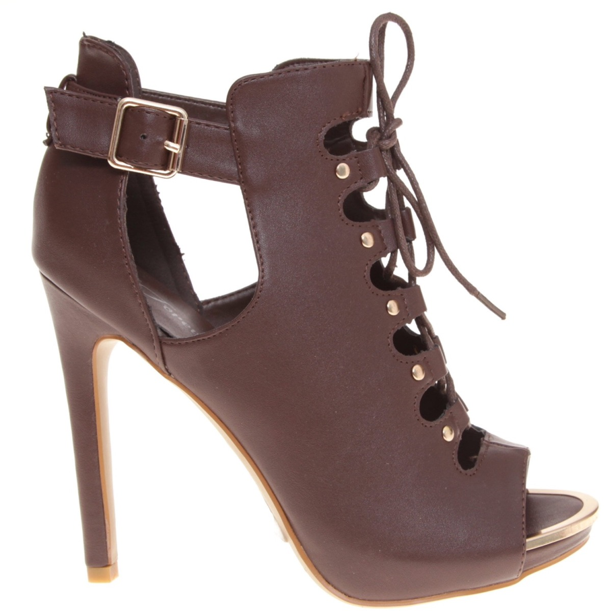 bfec25b5ab4 botín bota pep toe fashion casual caoba cafe chocolate 25.5m. Cargando zoom.