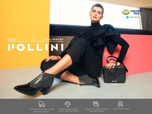 botin casual mujer pollini - v023