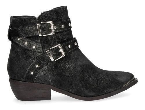 botín casual zappa mujer negro - x619