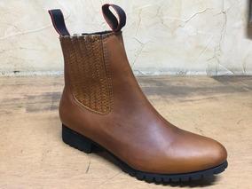 e29c54d1f5 Botines Charros Suela De Tractor Hombre Botas - Zapatos en Mercado ...