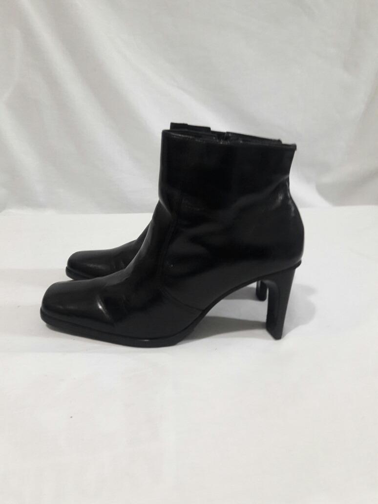 7ed395089ce Botin Cuero N°35 Color Negro -   25.000 en Mercado Libre