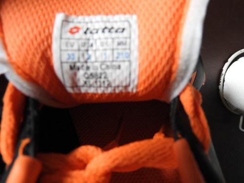 botin de futbol infantil lotto 33 (punto flex)