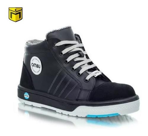 botin de trabajo, seguridad   ombu sneaker puntera composite