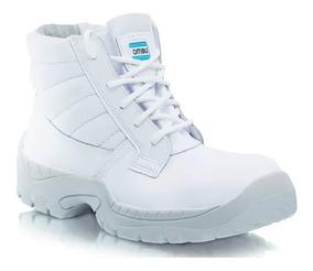 Botin De Trabajo Y Calzado De Seguridad Frances Blanco