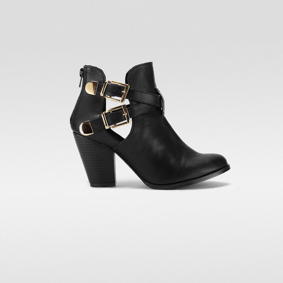 cd42b880181 botin hebilla negro dama mujer bota calzado dorothy gaynor. Cargando zoom.