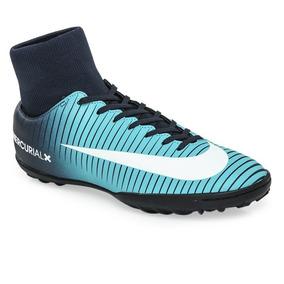 3e44fc61f Botines Nike Tiempo Tf Celestes - Deportes y Fitness en Mercado Libre  Argentina