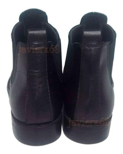 botín militar brodequines gala zapato vestir caballero cuero