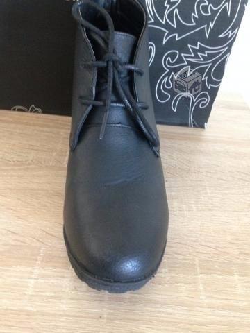 botín negro marie claire talla nº36